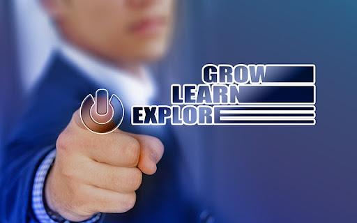 grow, learn, explore