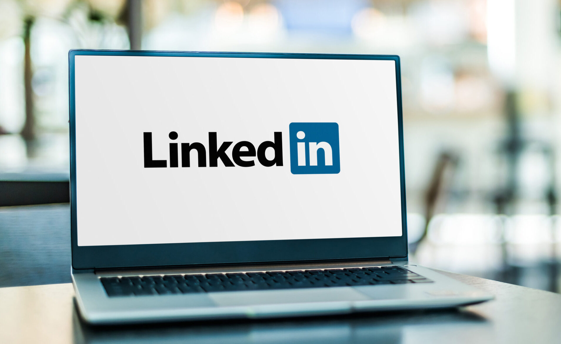 LinkedIn Logo On Screen Software Engineering Career