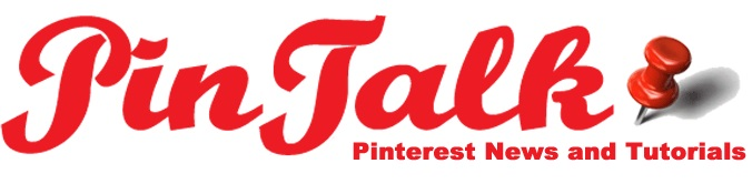PinTalkLogo in red with white background